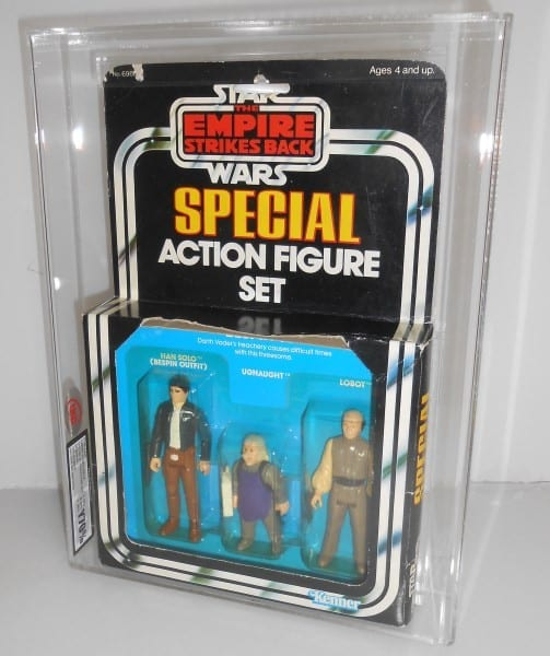 STAR WARS MISB ACTION FIGURE 3 PACK GRADING