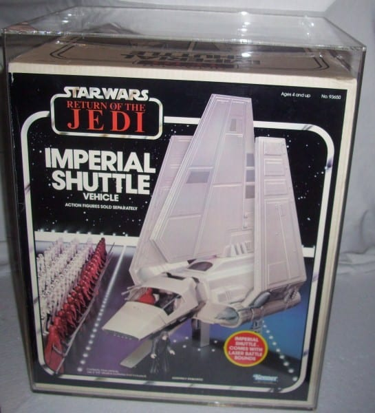 STAR WARS VINTAGE BOXED IMPERIAL SHUTTLE GRADING