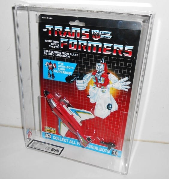 TRANSFORMERS G1 AERIALBOT MOSC GRADING