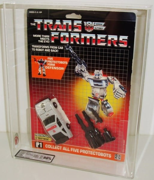 TRANSFORMERS G1 PROTECTOBOT MOSC GRADING