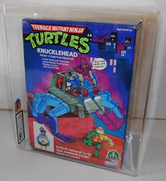 TEENAGE MUTANT NINJA TURTLES VINTAGE MISB KNUCKLEHEAD