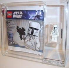 LEGO LOOSE MINI FIGURE+BAG U GRADED