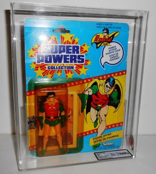 SUPER POWERS CARDED FIGURE GRADING