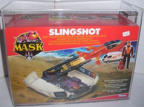 MASK VINTAGE BOXED SLINGSHOT