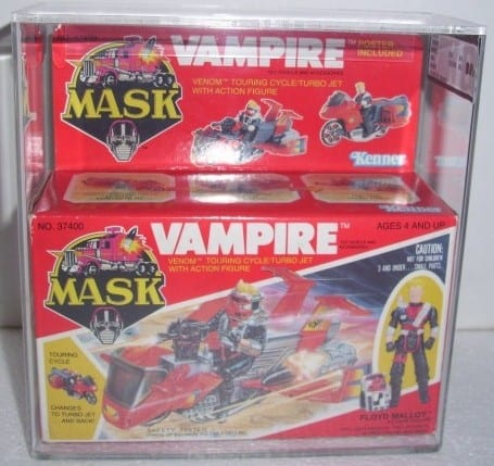 MASK VINTAGE BOXED VAMPIRE