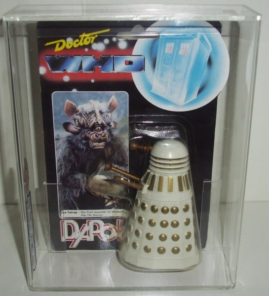 DOCTOR WHO DAPOL VINTAGE CARDED FIGURE GRADING
