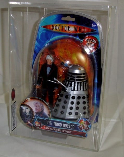 DOCTOR WHO MODERN CARDED GRADING