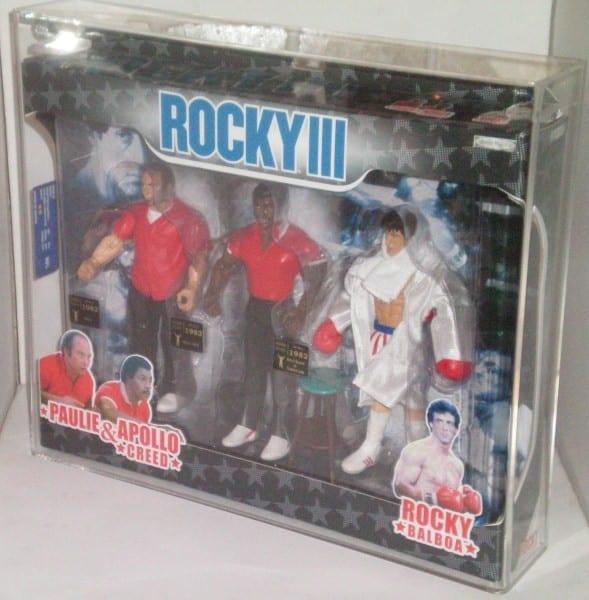 ROCKY JAKKS PACIFIC 3 PACK CARDED FIGURES GRADING