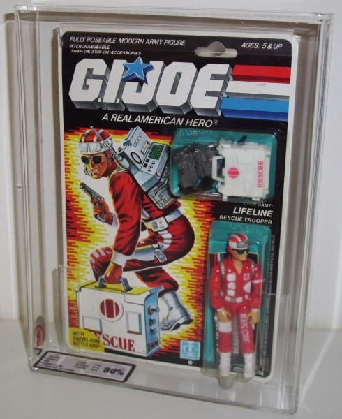 G.I.JOE CARDED FIGURE GRADING