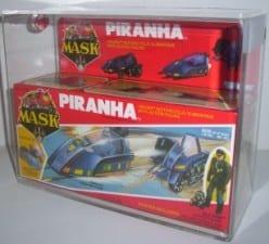 MASK VINTAGE BOXED PIRANHA GRADING
