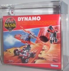 MASK VINTAGE BOXED DYNAMO GRADING