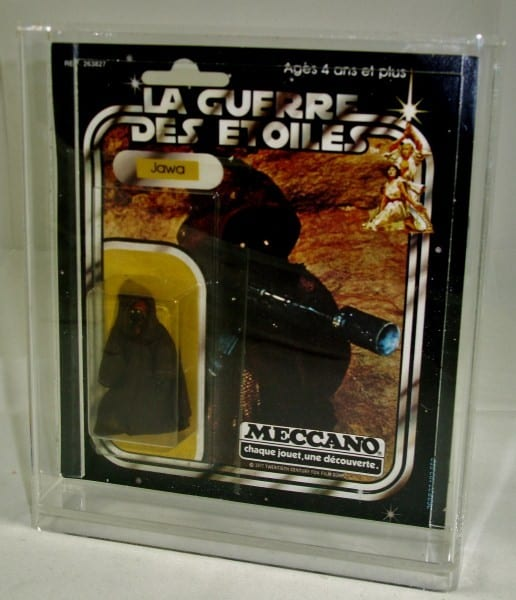 Meccano square carded figure