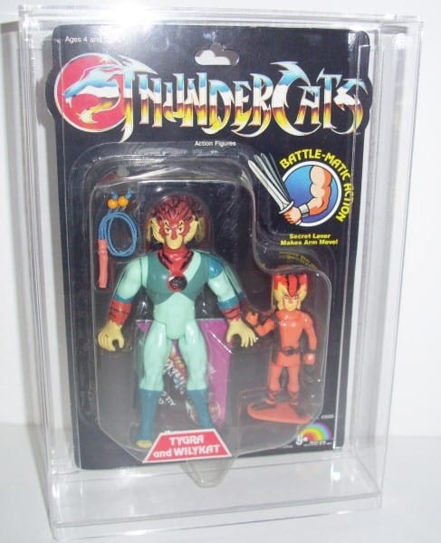 Thundercats carded figure display cases