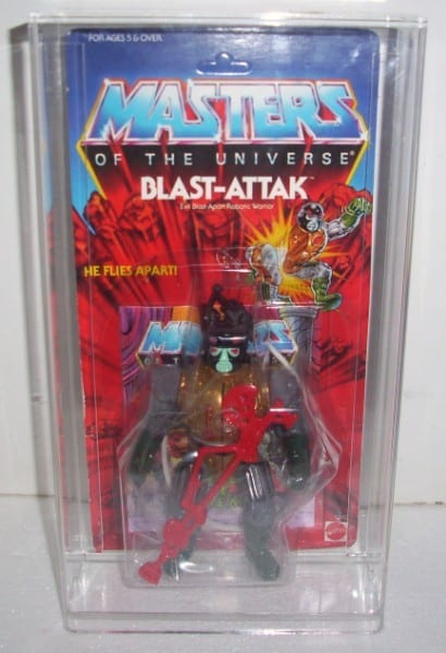 Masters of the Universe standard carded figure display case