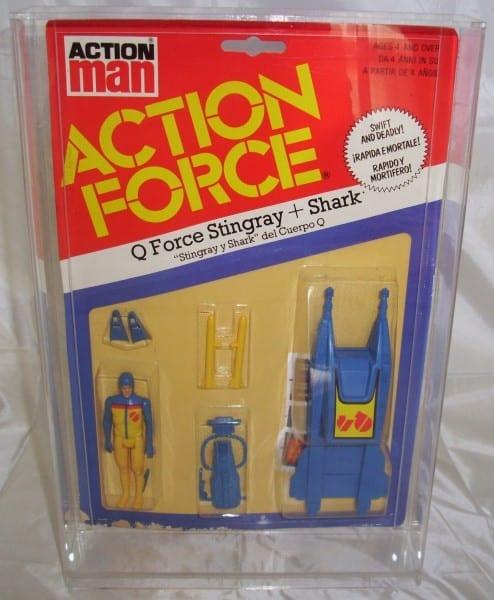 Action Force Vintage Large MOC display case
