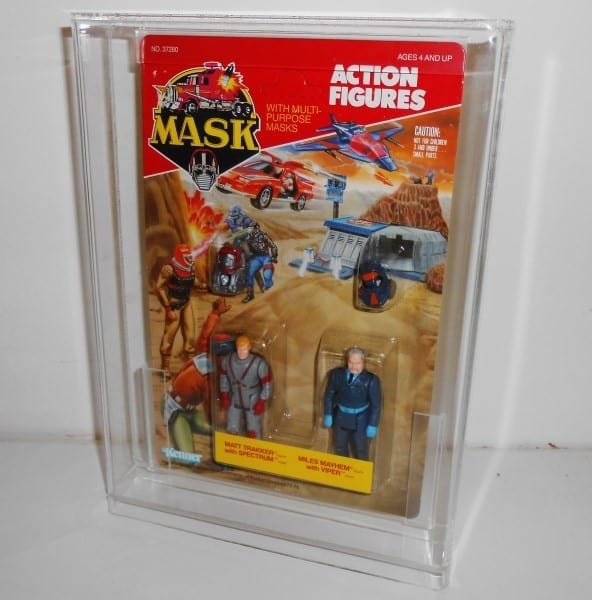 M.A.S.K Standard carded figure display case