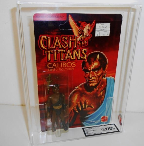 CLASH OF THE TITANS CARDED FIGURE GRADING