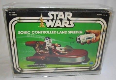 SONIC CONTROLLED LANDSPEEDER