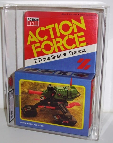 PALITOY ACTION FORCE SHAFT MISB GRADING