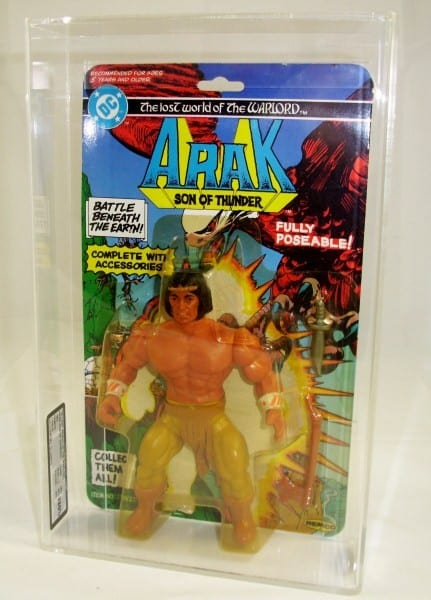 DC THE LOST WORLD OF THE WARLORDS CARDED FIGURE GRADING