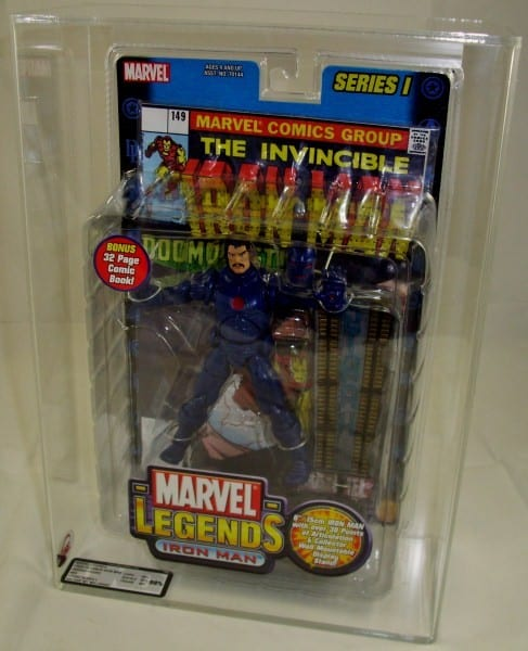 MARVEL LEGENDS STANDARD CARDED FIGURE GRADING
