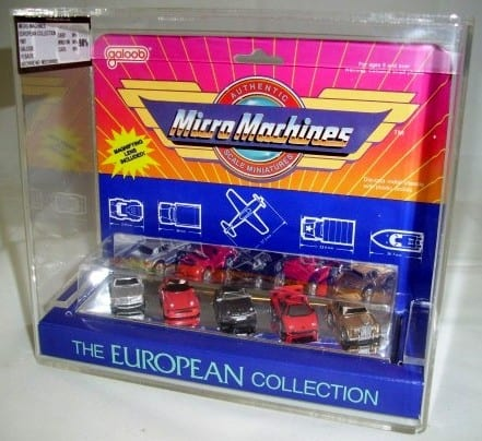 MICRO MACHINES VINTAGE STANDARD CARDED VEHICLES