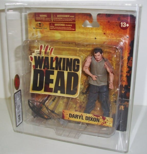 THE WALKING DEAD CARDED FIGURE GRADING