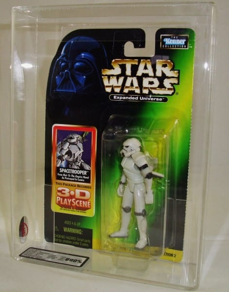 STAR WARS EXPANDED UNIVERSE CARDED FIGURE GRADING