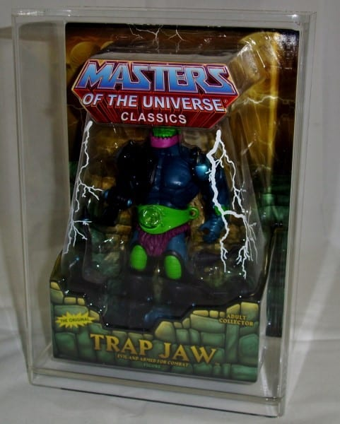 MASTERS OF THE UNIVERSE CLASSICS SLIDE BOTTOM DISPLAY CASE STANDARD SIZE