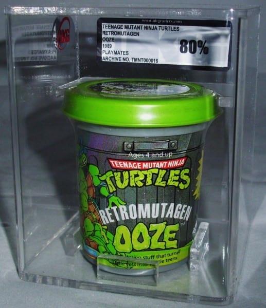 TMNT OOZE SEALED TUB GRADING