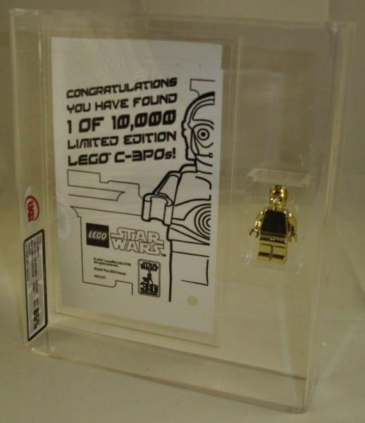 STAR WARS LEGO GOLD C-3PO PLUS PROMO BAG GRADING