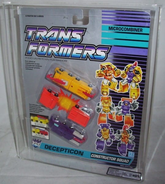 TRANSFORMERS G1 COMBINER TEAM MOSC GRADING
