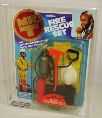 MR-T 12 INCH DOLL OUFIT CARDED GRADING