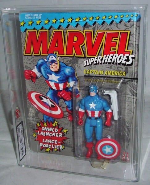 SUPER HEROES SPIDER-MAN MOSC FIGURE GRADING