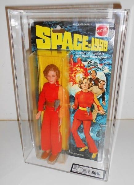 "SPACE 1999 8"" MOC FIGURE GRADING"