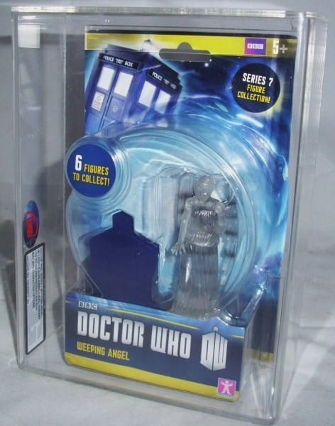 DOCTOR WHO SERIES 7 CARDED FIGURES GRADING