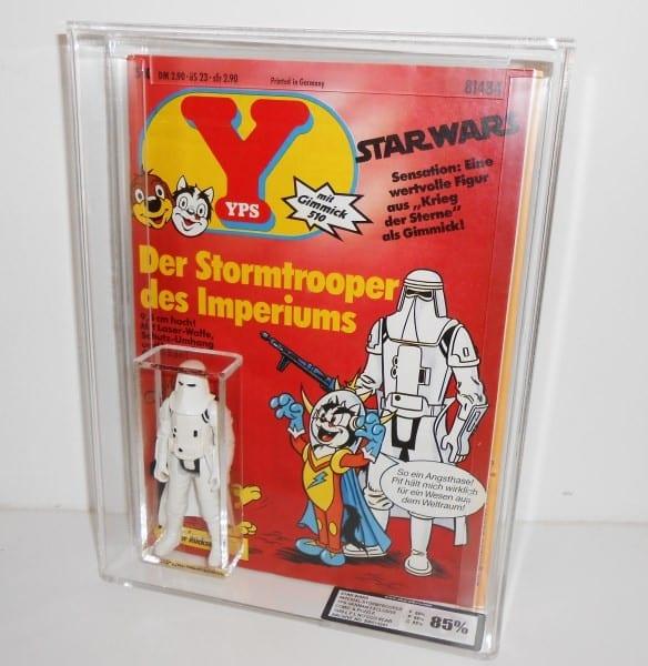 German YPS Stormtrooper and Comic custom case grading