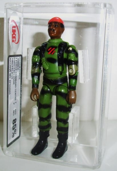 ACTION FORCE CENTRAL CASED FIGURE GRADING