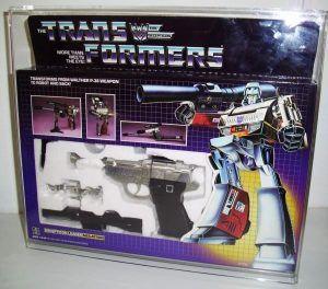 TRANSFORMERS MEGATRON DISPLAY CASE