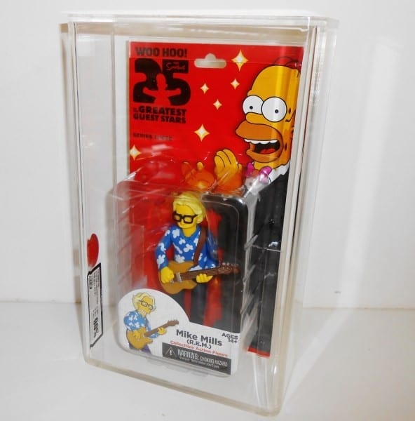 SIMPSONS WORLD OF SPRINGFIELD MOC FIGURE GRADING