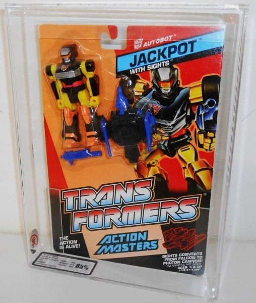 TRANSFORMERS ACTION MASTERS MOC GRADING