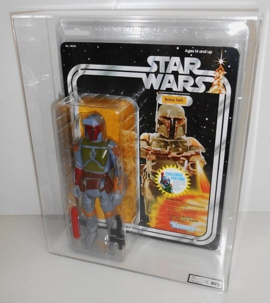 STAR WARS GENTLE GIANT CLAMSHELL CARDED FIGURE GRADING