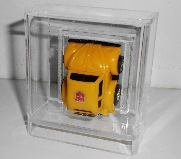 Transforners G1 Mini Bot Loose slide bottom Display Cse