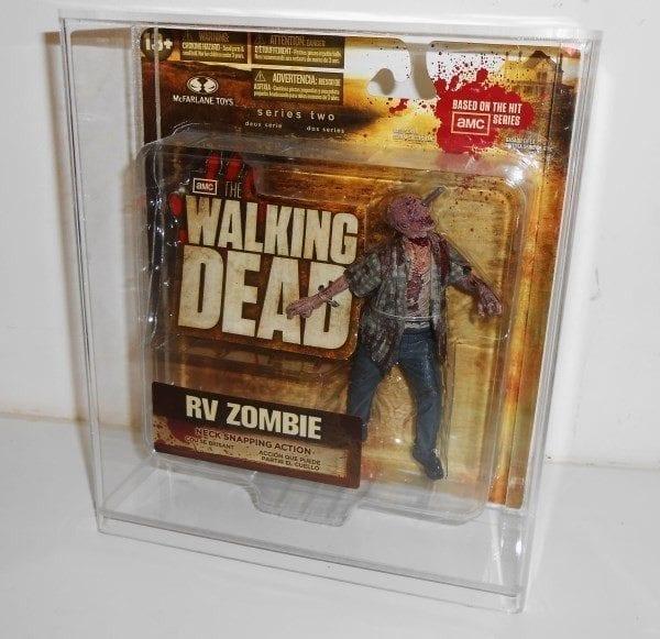 Walking Dead Series 1 Carded Figure Display Case