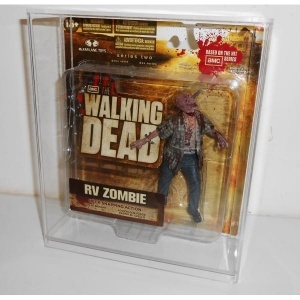 Walking Dead Slide Bottom Display Cases