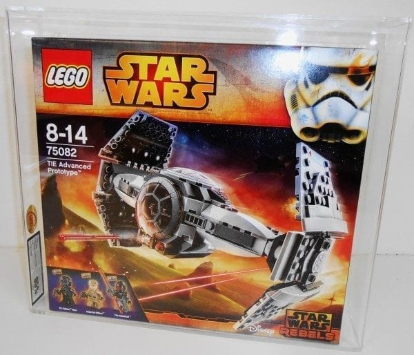 Lego Star Wars Tie Advanced Prototype 75082 Grading
