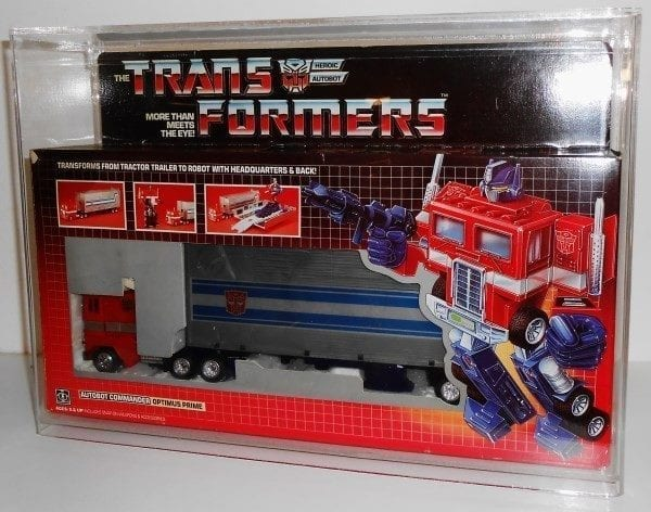 Transformers G1 Optimus Prime Display Case