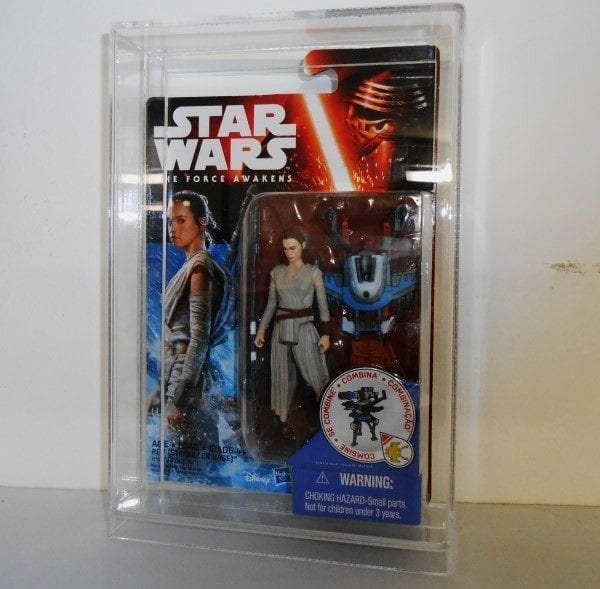 STAR WARS THE Force Awakens Carded Figure Display Case