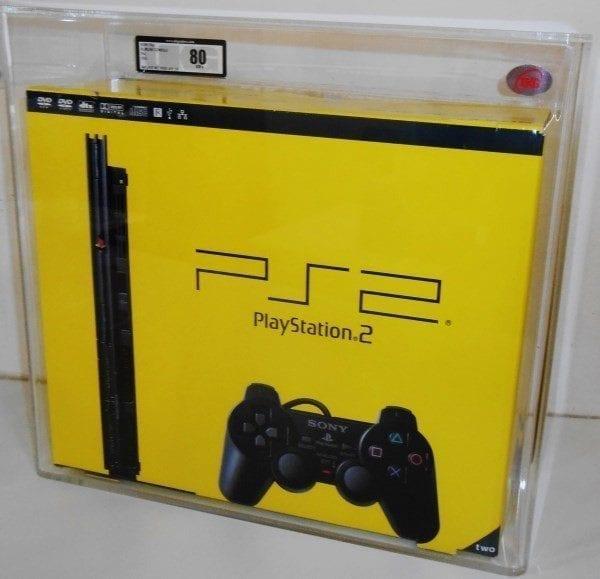 SONY PS2 SLIMLINE CONSOLE GRADING