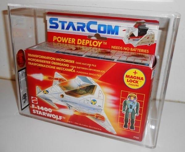 STARCOM F-1400 STARWOLF MISB GRADING
